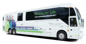 Screen For Life Bus